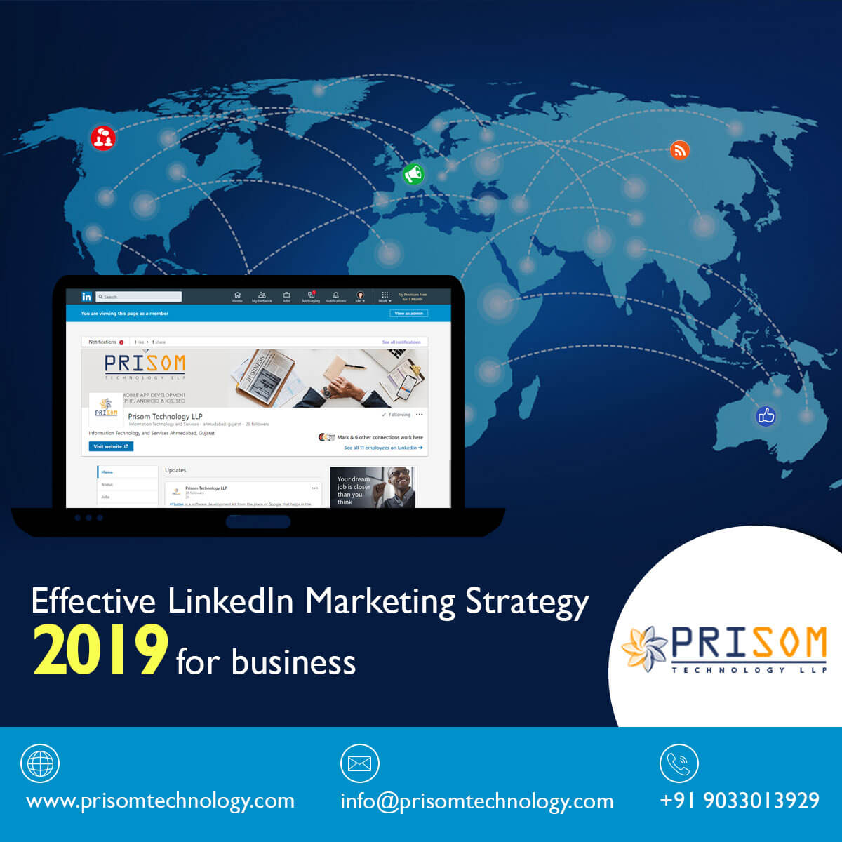 Effective LinkedIn Marketing Strategy 2019 for Business