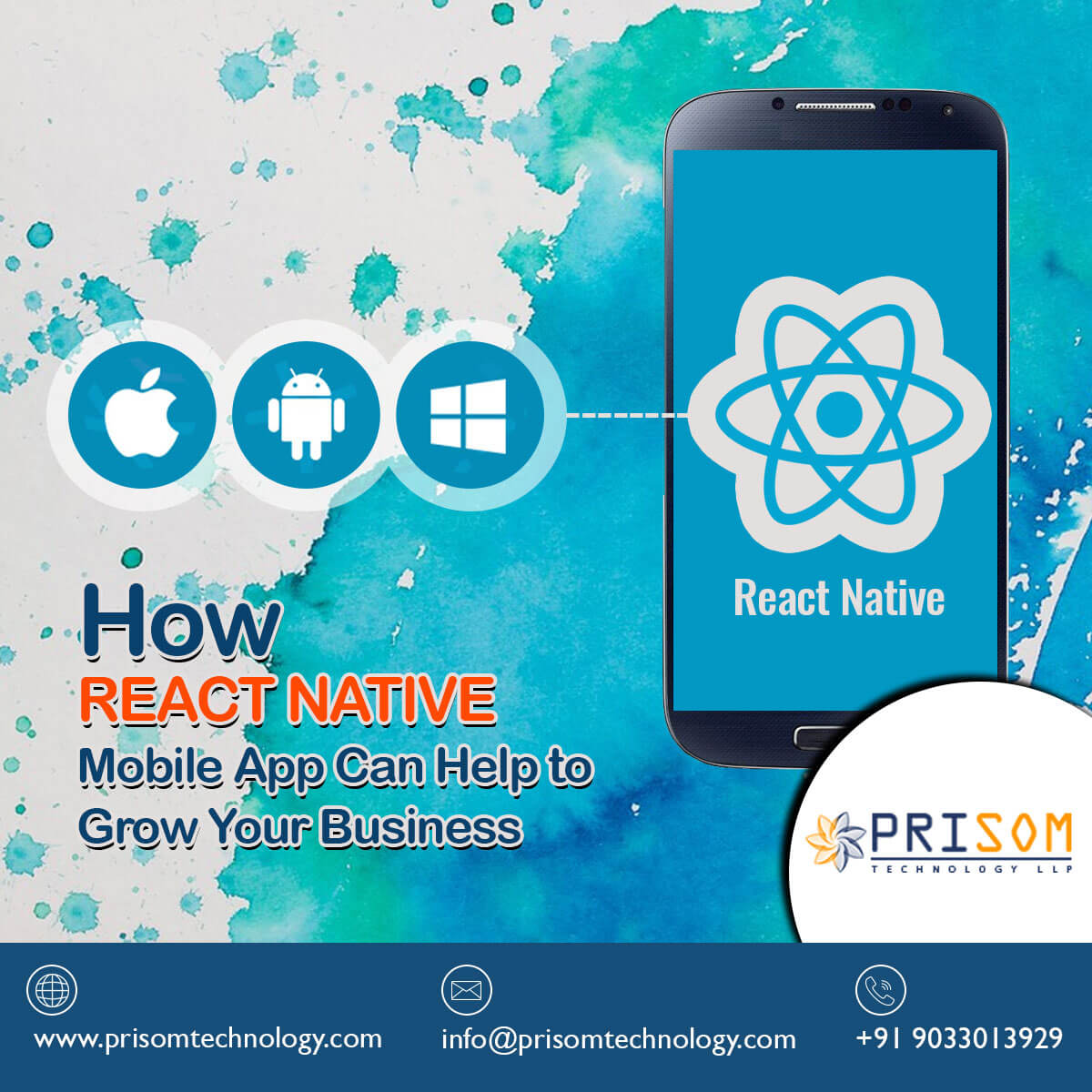 How React Native Mobile App Can Help to Grow Your Business