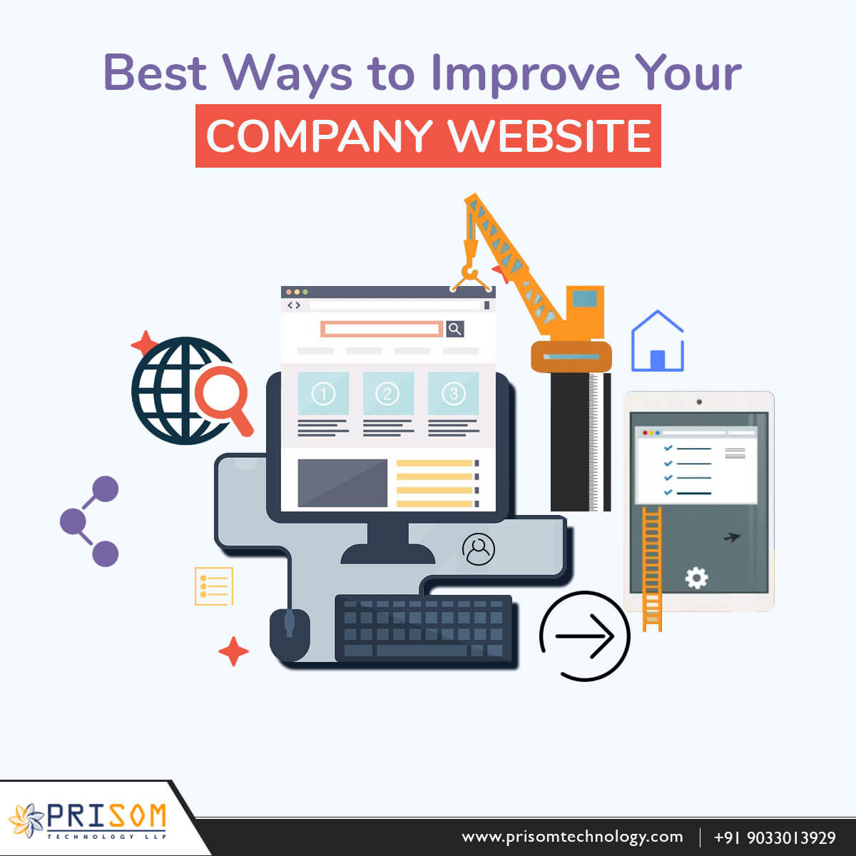 BEST WAYS TO IMPROVE YOUR COMPANY WEBSITE