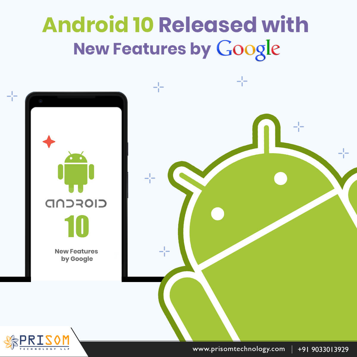 Android 10 Released with New Features by Google