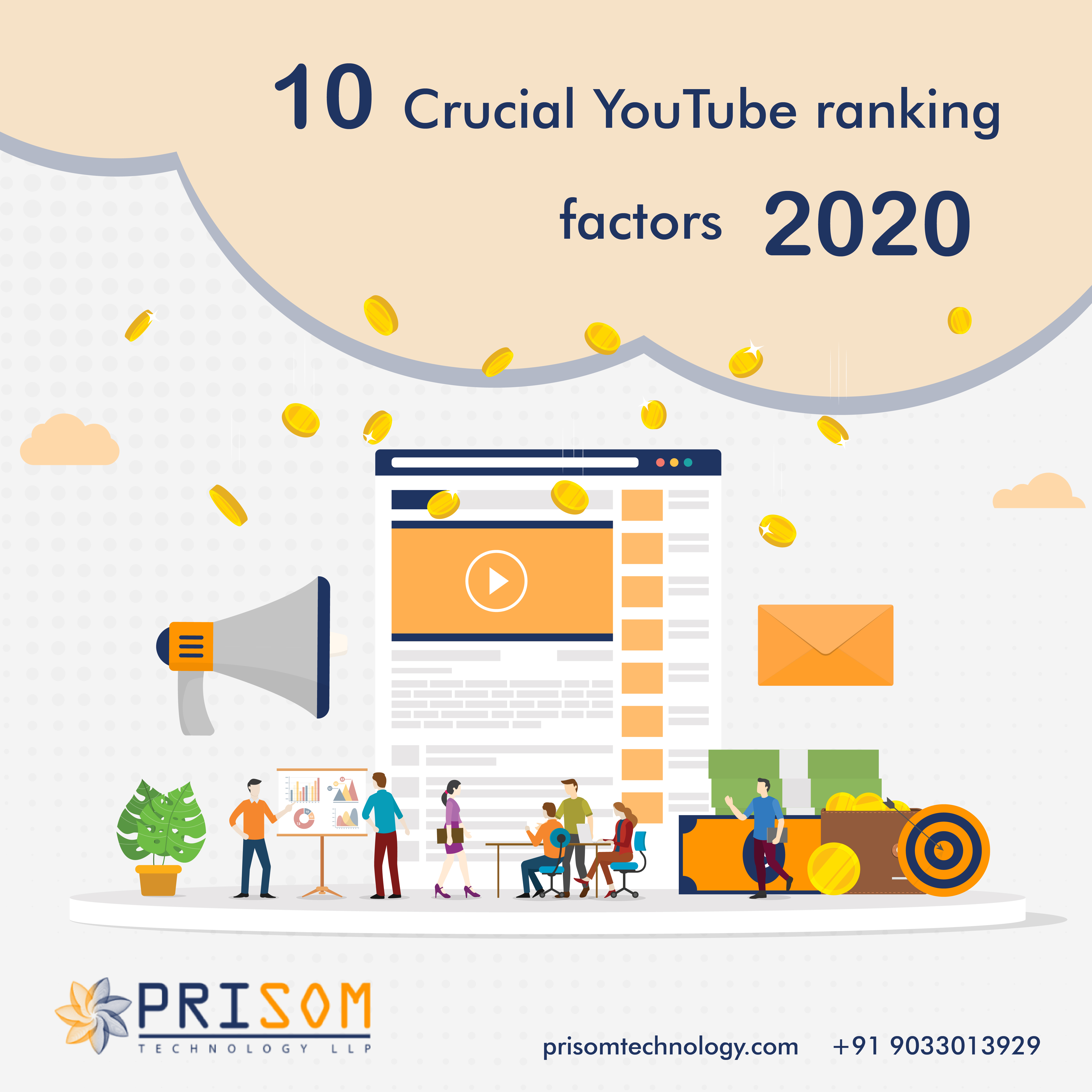 10 Crucial YouTube Ranking Factors 2020